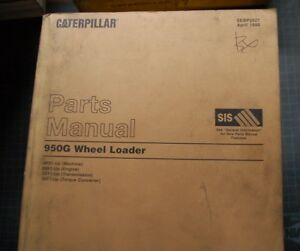 Cat Caterpillar 950g Wheel Loader Parts Manual Catalog 4bs 1998 Rubber Tire Oem