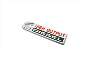 11 12 Dodge Ram 2500 3500 Cummins High Output Diesel Nameplate Emblem Mopar