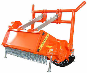 Lipa Ufk i Forest Shredder Mower For Skid Steer And Bobcat