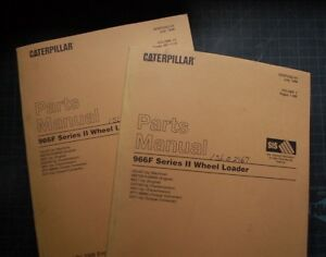 Cat Caterpillar 966f Wheel Loader Parts Manual Book Catalog Front End Owner List
