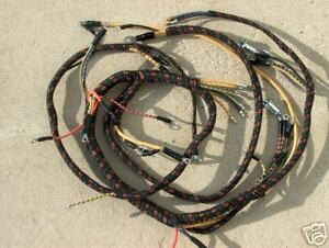 41 1941 Ford Truck Dash Wiring Exact Orignal Style V 8 New