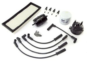 Ignition Engine Tune Up Kit For Jeep Wrangler 1991 93 Yj 2 5l With Efi 17256 13