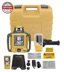 Topcon Rl sv2s Rb Dual Slope Self leveling Rotary Grade Laser Level rechargeable