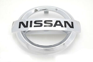 Nissan Altima Murano Quest Rogue Front Radiator Grille Chrome Emblem Oem New