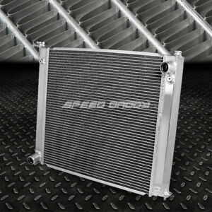 2 row Aluminum Core Racing Radiator Replacement For 90 96 300zx Fairlady Z32 Mt