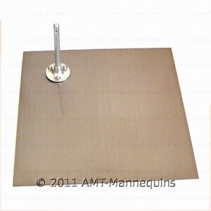 Metal Stand 14 X 14 For Full Body Male And Female Mannequins Stand sq
