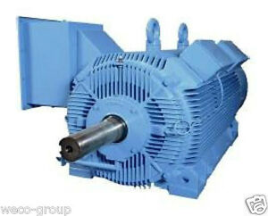Hsd300 18 l449t 300 Hp 1800 Rpm New Hyundai Severe Duty L Frame Electric Motor