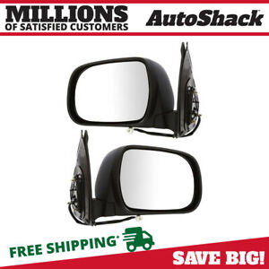 Power Paint To Match Folding Side View Mirror Pair For 2005 2010 Toyota Tacoma