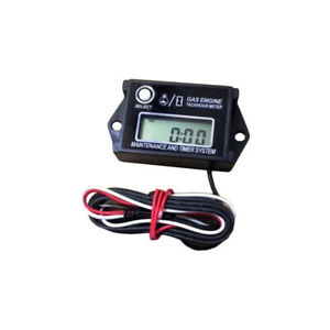 Go Kart Tach Hour Meter Digital Waterproof Tachometer Max Rpm Recall Lcd Display