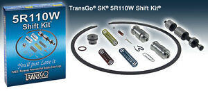 Transgo Ford Sk 5r110w Transmission Shift Kit Torqshift 2003 10 Truck Sk5r110w