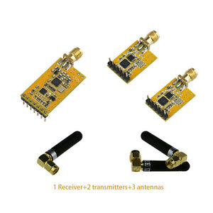 Ds18b20 Sht11 Sht12 Sht21 Sht25 Wireless Sensor Transmitter Receiver Module