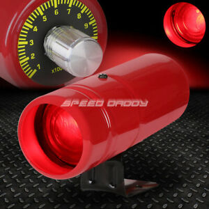 Adjustable Rpm Manual Tachometer Aluminum Tube 1 5 Red Shift Light Lamp Stand