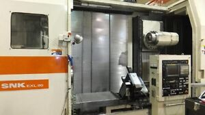 Shin Nippon Snk Exl 80 Multi axis Cnc Lathe W live Tooling