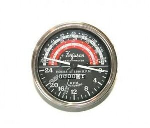 Ferguson To35 Mh50 cont Engine Clockwise Tachometer Tach 193966m91