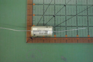 Sprague Axial Capacitor 500uf 35v Audio Electrolytic 500mfd 4555000 01 50pcs