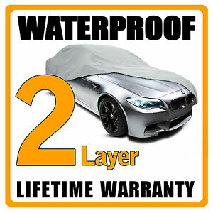2 Layer Car Cover Breathable Waterproof Layers Outdoor Indoor Fleece Lining Fih Fits 1968 Mustang