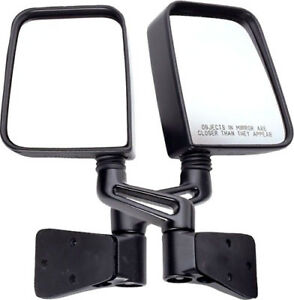Rugged Ridge Sideview Door Mirrors Pair For Jeep Wrangler Tj Yj 87 06 11002 03