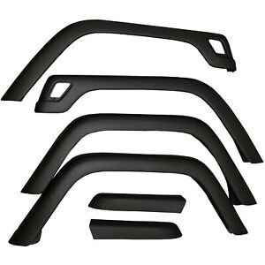 Replacement Fender Flare Flares Kit With Hardware For Jeep Wrangler Tj 1997 2006
