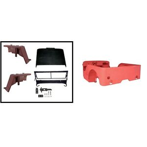 Steel Body Kit For Ford Gpw 1941 1945 Tub Fenders Hood Tailgate 12001 04 Omix