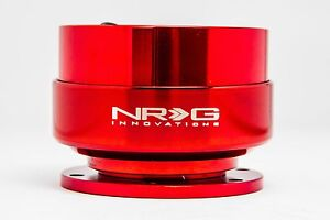 Nrg Quick Release Steering Wheel Hub Kit Red Gen 2
