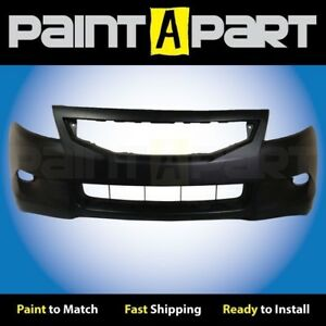 Fits 2008 2009 2010 Honda Accord Coupe Front Bumper Cover Premium Painted
