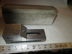 Machinist Tool Lathe Mill Ground Hardened Precision Grinding Vise