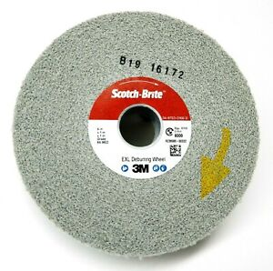 3m Deburring Wheel 8a Med 6 x1 x1 Scotch brite Exl Medium Grade Hard Density