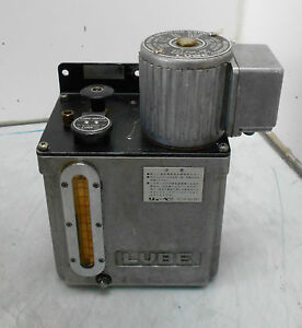 Lube Corp Automatic Lubricator Mmx It 05 3 Phase 220v Used Warranty