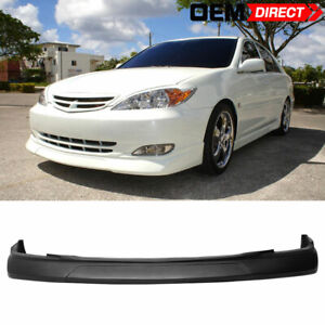 For 02 03 Toyota Camry Pu Front Bumper Lip Spoiler Body Vip Style Poly Urethane
