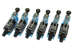 6 Pc Temco Adjustable Roller Arm Limit Switch Cnc Mill Plasma Router Lathe Home