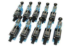10 Pc Temco Adjustable Roller Arm Limit Switch Cnc Mill Plasma Router Lathe Home