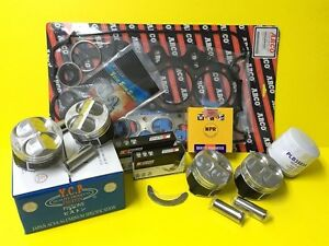Ycp Integra B18b1 Ctr High Compression Pistons Racing Engine Kit With Npr Rings