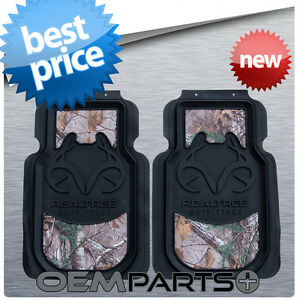 2x Realtree Front Floor Mats Camouflage Xtra Camo Truck Suv Car Pair Set Usa