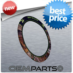 New Bone Collector Steering Wheel Cover Neoprene Camouflage Camo Truck Suv Car