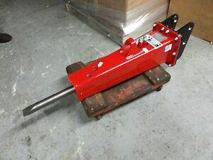 Dms95 220lb Hydraulic Hammer Breaker Skid Steer Bobcat Excavator Case Cat New