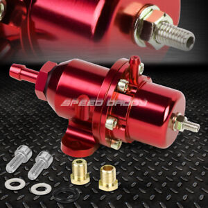 For Honda Acura Dohc B16 B18 F20 Bolt On Adjustable Fuel Pressure Regulator Red
