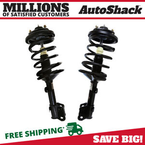 Front Complete Strut Pair For 2001 2002 Acura Mdx 2003 2007 2008 Honda Pilot