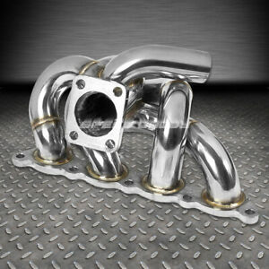 For 93 02 Mit Mirage Lancer Evo Ct9a 4g93 Swap 1 8l T25 Turbo Manifold Exhaust