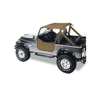 Tan Bikini Top Jeep Cj7 Cj8 Wrangler Yj 1976 1991 52508 04 Bestop