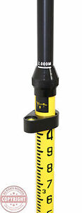 2m Aluminum Snap lock Gps Rover Rod surveying trimble topcon sokkia rtk seco