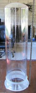 Large Double Walled Fused Quartz Tosch Furnace Bell Jar Tc 163s 293 001