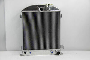 1937 1938 New 3 Row Radiator Chevy Engine Ford Grill Shells 3 Chopped 37 38
