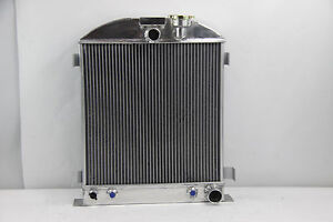 1933 1934 New 3 Row Radiator Chevy Engine Ford Grill Shells 3 Chopped 33 34