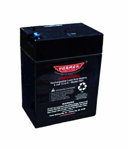 Parker Mccrory Mfg Company 901 6 volt Rechargeable Battery