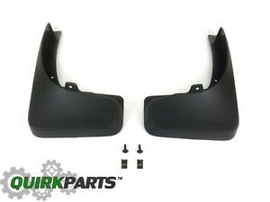 2011 2015 Dodge Avenger Rear Molded Splash Guards Mud Flaps Mopar Oem New