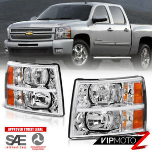 L r Factory Style Replacement Headlight Headlamps Assembly Chevy Silverado 07 14