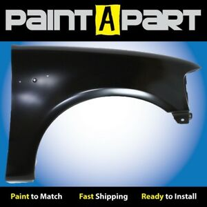 1997 1998 1999 2000 Ford F150 F250 W O Mldng Right Fender Premium Painted