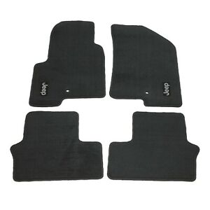 2007 2016 Jeep Compass Patriot Carpet Floor Mats Slate Set Of 4 Premium Mopar Oe
