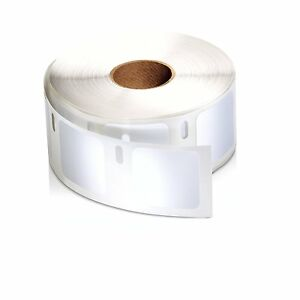 100 Rolls 1x1 Dymo Labelwriter Compatible 30332 Multipurpose 750 Labels Per Roll