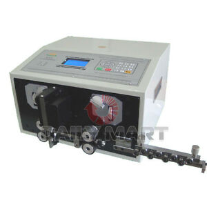 New Swt508 e Computer Thick Cable Wire Peeling Stripping Cutting Machine 0 2 8mm